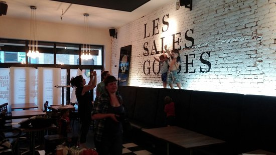 Les sales gosses qu bec ville restaurant avis num ro for Chambre d hote quebec city
