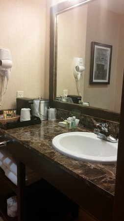 Deadwood Mountain Grand Hotel, a Holiday Inn Resort : bathroom