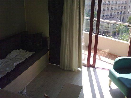 Hotel Riu Kaya Belek: My room at the 4th floor