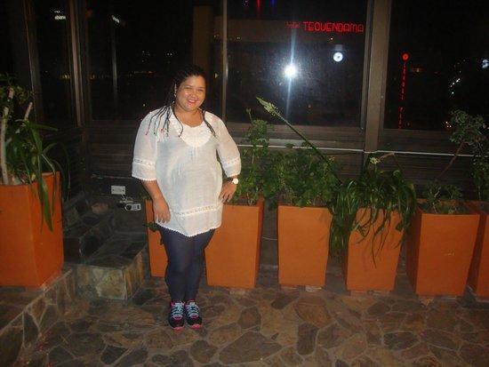 Hotel MS Oceania : Terraço