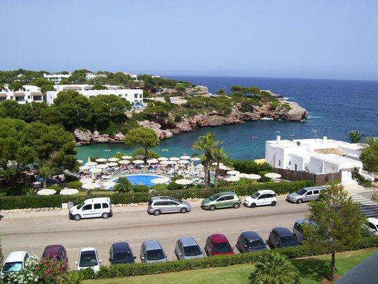 Inturotel Cala Esmeralda: View from room with sea view (Room 310)