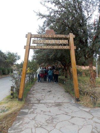 Sacsayhuamán: Portal da entrada de Sacsaywaman