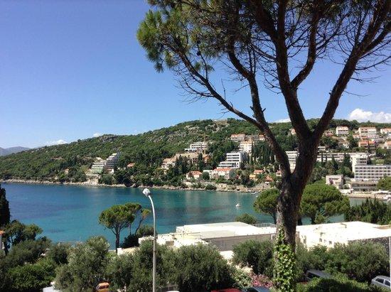 Hotel Adriatic : вид с балкона