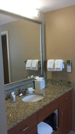 Residence Inn Fort Lauderdale Pompano Beach/Oceanfront: Bathroom