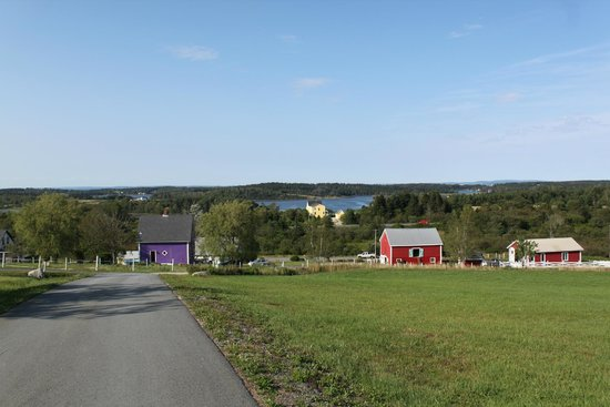 Lunenburg Oceanview Chalets: View from front deck of cottage