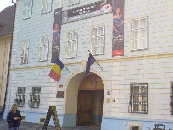 Brukenthal National Museum: Entrance