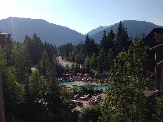 Four Seasons Resort and Residences Whistler: view from thr balcony