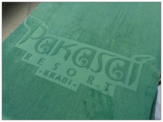 Pakasai Resort: Beach towel