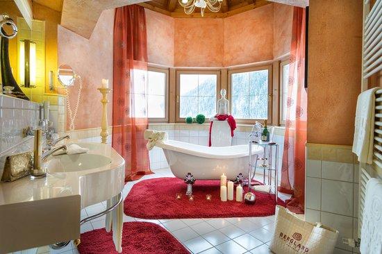 The dream suite at the Wellnesshotel Bergland