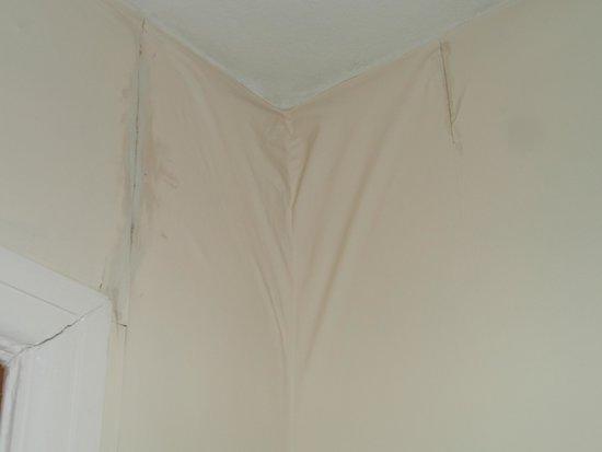 Cavendish Hotel: bedroom wall
