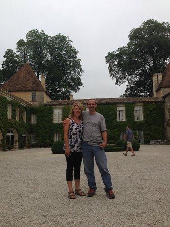 Bordeaux Wine Trails : the courtyard