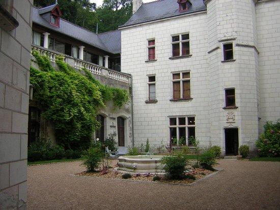Chateau de Chissay : intérieur du chateau