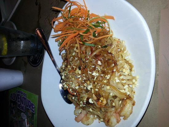 Bonefish Grill : Shrimp Pad Thai Very Sweet & Spicy
