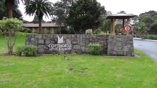 Copthorne Hotel & Resort Bay of Islands : Entrance to the Copthorne