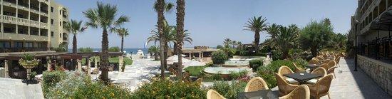 Aquila Rithymna Beach Hotel : Вид на отель