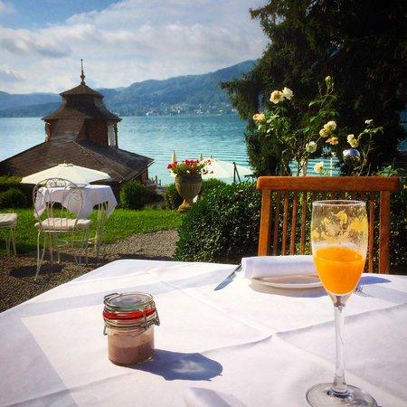 Schlossvilla Miralago: frühstück
