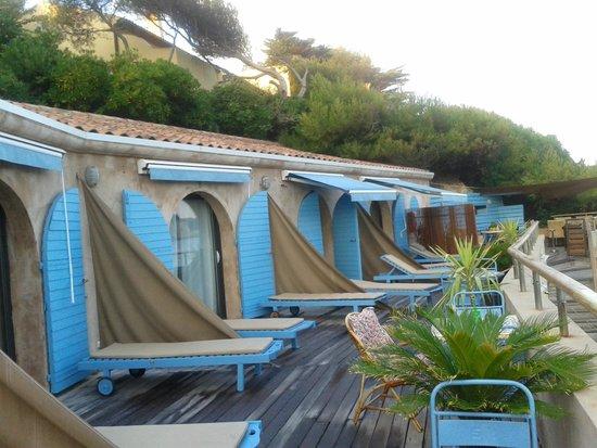 Terrase des chambres picture of o petit monde sanary sur mer tripadvisor - Chambre d hote sanary sur mer ...