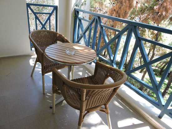 Club Med Bodrum Palmiye : Terrasse chambre