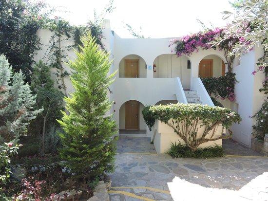 Club Med Bodrum Palmiye : Vue sur les chambres