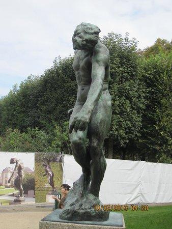 Musée Rodin : Garden Sculpture