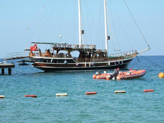 Club Med Bodrum Palmiye : Vue mer