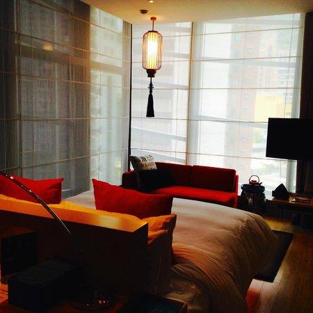 Hotel Indigo Hong Kong Island: 角部屋は、日当りが良いです