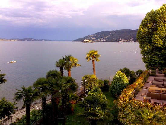 Hotel Rigoli: Evening sun form the room balcony