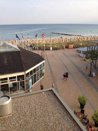 IFA Fehmarn Hotel & Ferien-Centrum: Utsikt från balkongen