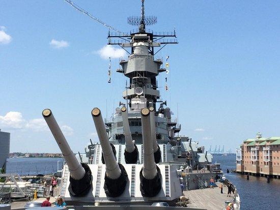 Nauticus: USS Missouri