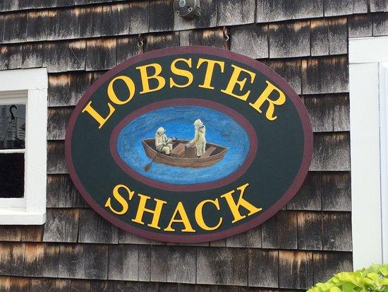 Lobster Shack: Sweet sign