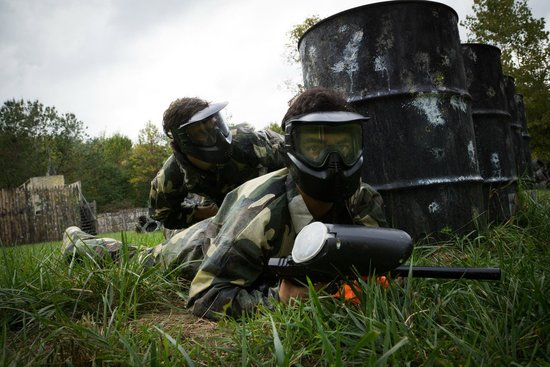 Paintball Sports: High action themed fields