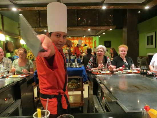 Iberostar Tucan Hotel: Japanese restaurant