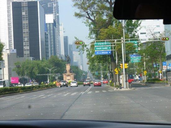 Paseo de la Reforma: Avenida Reforma - México DF