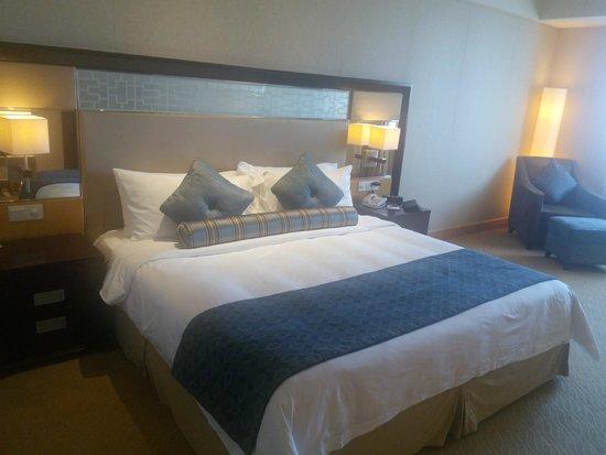 Crowne Plaza Shanghai Fudan : bedroom