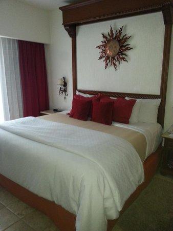 Playa Grande Resort: Bed was SO comortable