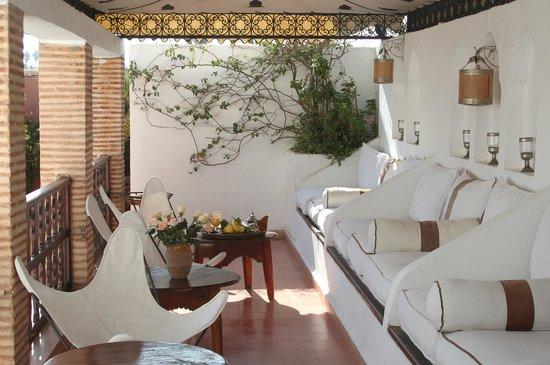Dar Warda: Terrace