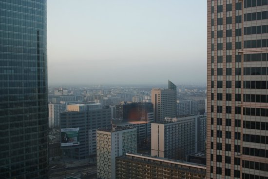 InterContinental Hotel Warsaw : View from room