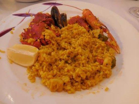 Can Bep: Paella de marisco