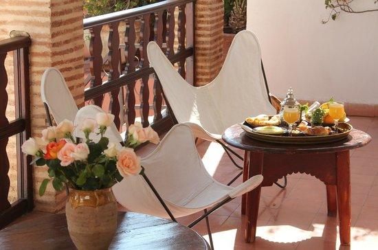 Dar Warda : Terrace/ Breakfast