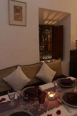 Dar Warda : dining room
