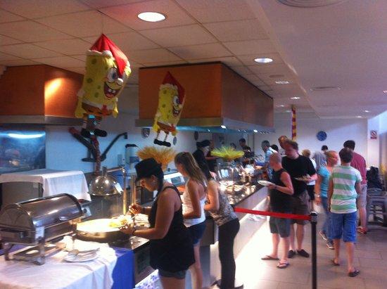 Hyb Eurocalas: buffet special enfant