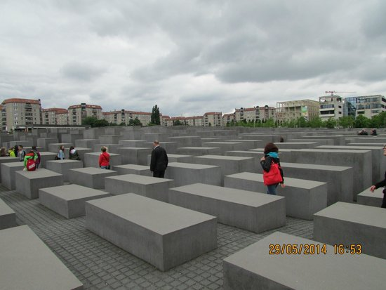 Memorial del Holocausto: Memories very touching