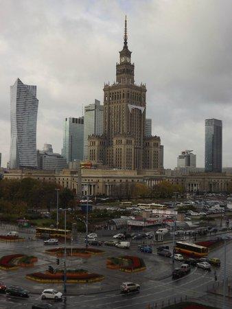 Novotel Warszawa Centrum : Vista do Hotel
