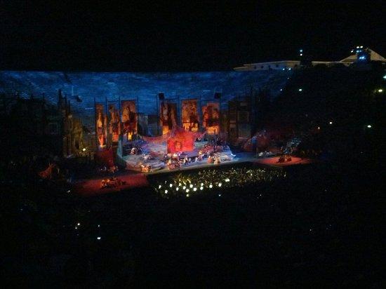 Arena di Verona: Waauw...