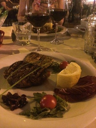 Santa Lucia Ristorante: The delicious food we enjoyed!
