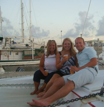 Celine Charters: On the boat just before departure!