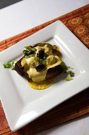 Bha! Bha! Bistro: Eggplant and Artichoke terrine....a classic