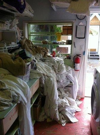 Green Gables Beach Resort: the laundry room