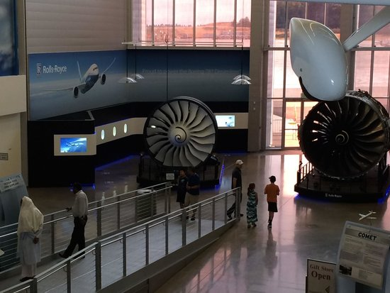 Future of Flight Aviation Center & Boeing Tour: Gallery