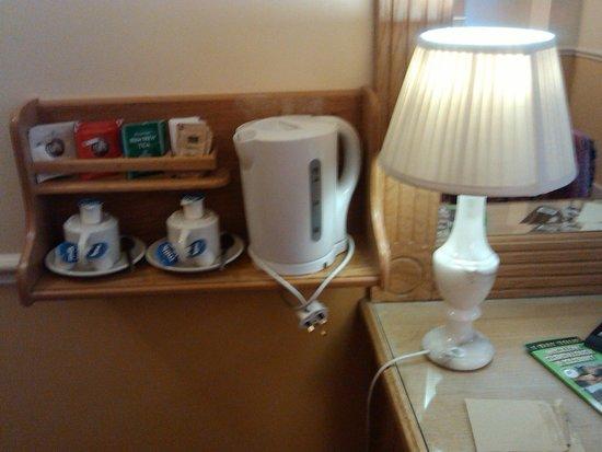 Harcourt Hotel: angolo tea